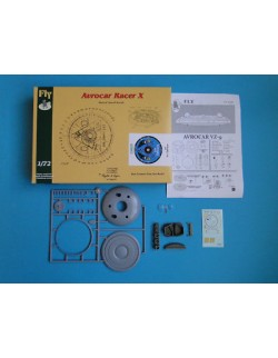 Avrocar Racer X Jet Zodiaco - Wertical Take-off Aircraft , FLY 72023, SCALE 1/72