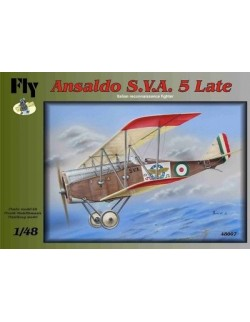 Ansaldo S.V.A. 5 Late, Italian reconnaissance fighter , FLY 48007, SCALE 1/48