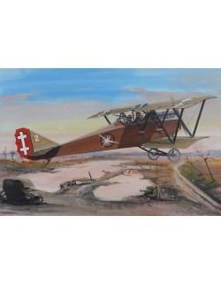 Ansaldo S.V.A.10, Italian reconnaissance fighter , FLY 48010, SCALE 1/48