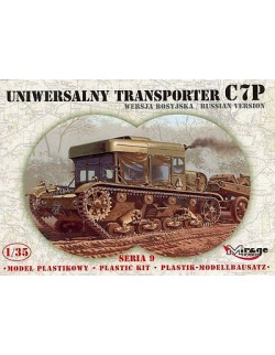 UNIVERSAL TRACTOR C7P - RUSSIAN  VERSION, MIRAGE HOBBY 35903, SCALE 1/35