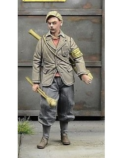 D-Day Miniature, 35037,1:35, Young Volkssturmman, Germany 1945 (1 figure)