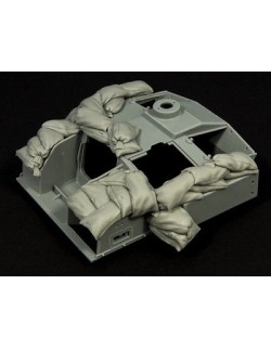 PANZER ART, 1:35, RE35-315 Sandbags armor for StuG III F8 (light set)