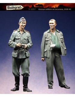 STALINGRAD 1:35, GERMAN SOLDIERS ON EXCURSION 1939-45, S-3007