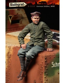STALINGRAD MINIATURES 1:35 GERMAN SOLDIER WWI , S-1113