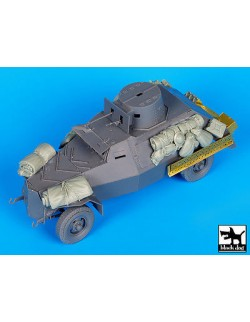 Accessories set for Marmon-Herrington Mk II, T35113, BLACK DOG, 1:35