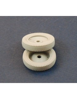 PANZER ART, 1:35, RE35-237 Spare Wheels for Sd.Kfz 10 &250 (Commercial Pattern)