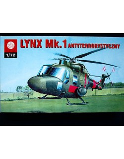 LYNX MK.1 - BRITISH ARMY AVIATION (ANTI-TERRORISM UNIT), ZTS PLASTYK,SCALE 1/72