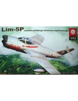 LIM-5P (MIG-17) POLISH AIR FORCE, PLASTYK, 1/72, S029