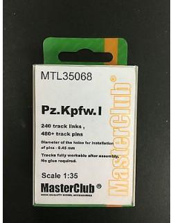 Pz.Kpfw. I metal tracks, MTL 35068, MasterClub, 1:35
