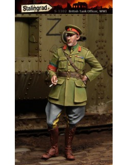 STALINGRAD 1:35 WWI BRITISH TANK OFFICER, S-1102