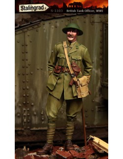 STALINGRAD 1:35 WWI BRITISH TANK OFFICER, S-1103