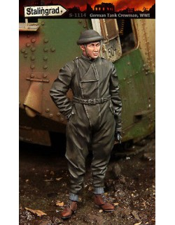 STALINGRAD MINIATURES 1:35 GERMAN TANK CREWMAN, WORLD WAR I, S-1114
