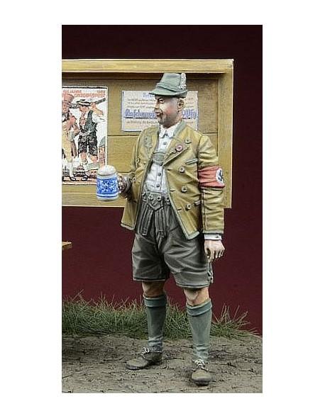 Oktoberfest Munich 1935 35049,1:35,NSDAP Member 1 figure D-Day Miniature
