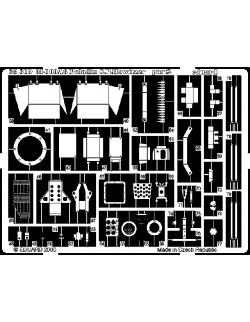 PE parts for M-109A6, 1/35 (for ITALERI), Eduard 35319