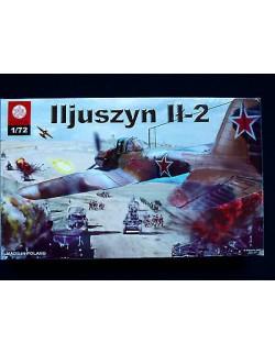 ILJUSZYN IŁ-2, ZTS PLASTYK S-042, SCALE 1:72,