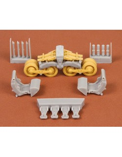 S.B.S Models, 1/35,35002 40/43M Zrínyi assault gun suspension set for Bronco kit