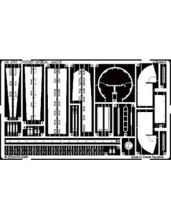 PE parts for T-72M2 w/ ERA, 1/35 (for DRAGON), Eduard 35329