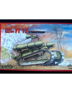 FT 17 CHEMICAL TANK, RPM, SCALE 1/72