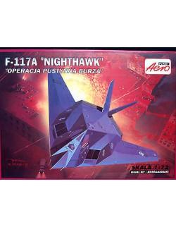 F-117A NIGHTHAWK, DESERT STORM, AEROPLAST, SCALE 1/72