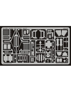 PE parts for Sd. Kfz.251/1 Ausf. C for DRAGON, Eduard 35688, 1/35