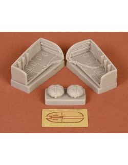 S.B.S Models, 1:48, 48026, Arado Ar-234 wheel bays for Revell/Hasegawa kit