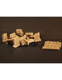 PANZER ART, 1:35, RE35-283 1/35 WWII Italian 20l Canisters (12pcs)