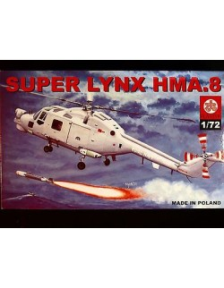 SUPER LYNX HMA.8 ROYAL NAVY HELICOPTER, ZTS PLASTYK, SCALE 1/72