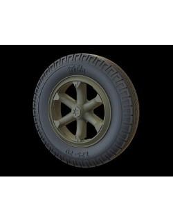 PANZER ART,1/35 RE35-206 Road Wheels for Henschel 33 (Commercial Pattern)