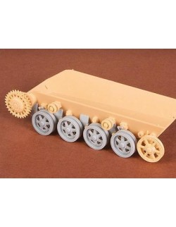 S.B.S Models,1/35, 35025, Toldi I.-II.-III. Roadwheels + suspension