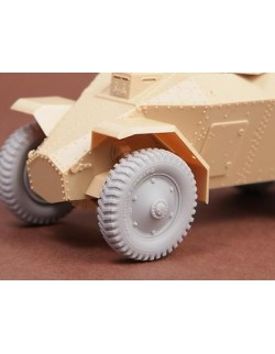 S.B.S Models, 1/35, 35026, 39M Csaba wheel set (Cordatic)