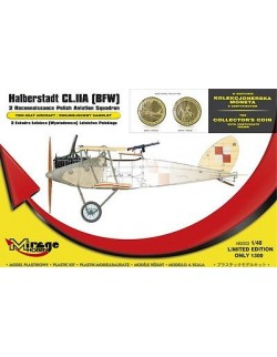 Halberstadt CL.IIA [BFW] '2 Reconnaissance Polish Aviation , MIRAGE HOBBY 480003