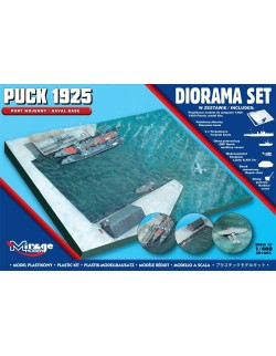 PUCK 1925 (Naval Base) - DIORAMA SET, MIRAGE HOBBY 401001, 1:400