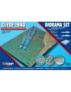 CLYDE 1940 (Scotland, Firth of Clyde) - DIORAMA SET, MIRAGE HOBBY 401002, 1:400