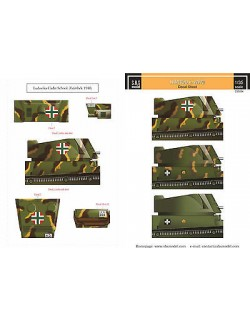 S.B.S Models, 1/35,D35004, DECALS for Hungarian 40M Nimród in WWII