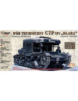 'KLARA' C7P (p) German Recovery Vehicle,  MIRAGE HOBBY 728092,SCALE 1/72