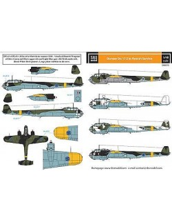 S.B.S Models, 1:48, D48010, Dornier Do-17 in Finnish service