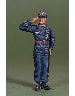 DEF.MODEL, WWII WH Panzer commander on board -1 FIGURE, DO35016,1:35