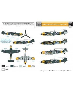 S.B.S Models, 1:48, D48014, Messerschmitt Bf-109G-2 in Finnish service