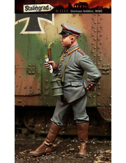STALINGRAD MINIATURES 1:35 GERMAN SOLDIER WWI , S-1112