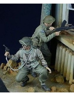 D-Day Miniature, 35021,1:35, British/Commonwealth Infantry in action 1943-45