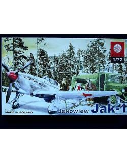 JAKOWLEW JAK 1, ZTS PLASTYK S-031, SCALE 1:72