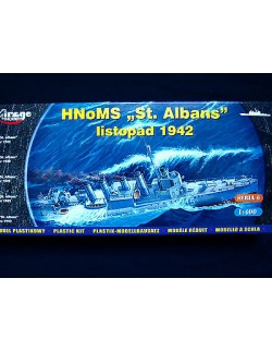 "HNoMS ""ST. ALBANS""-NORWEGIAN NAVY DESTROYER-WWII, MIRAGE HOBBY 40609, 1:400"
