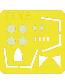 MASK for Hunter F Mk.6, CX105, 1:72, Eduard