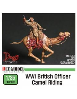 DEF.MODEL, WWI British Officer Camel Riding (1 FIGURE+CAMEL), DF35006, 1:35