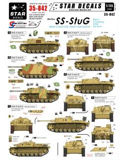 Star Decals 35-842, Decal - Waffen-SS StuG  1, 1:35