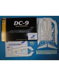 DC 9-15 Federal Aviation Administration,  FLY 14413, SCALE 1/144