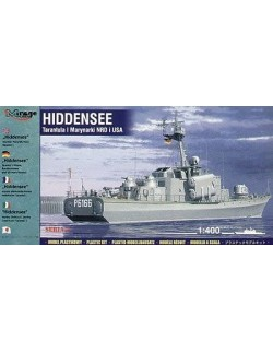 HIDDENSEE (GERMAN NAVY / US NAVY TARANTUL I), 1:400, MIRAGE HOBBY 40232