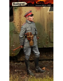 STALINGRAD 1:35, GERMAN OFFICER, WWI, S-1115