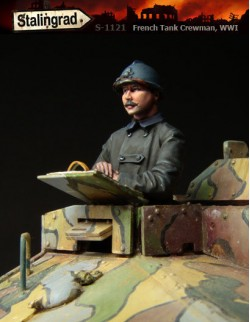 STALINGRAD 1:35, FRENCH TANK CREWMAN, WWI, S-1121