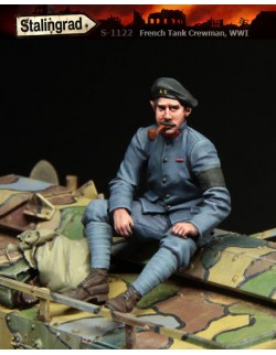 STALINGRAD 1:35, FRENCH TANK CREWMAN, WWI, S-1122